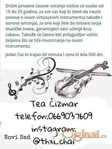 Privatni časovi violine za početnike