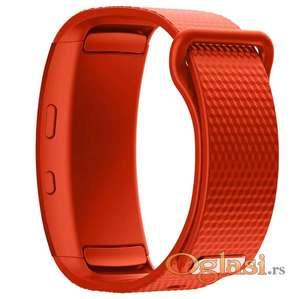 Crvena silikonska narukvica za Samsung gear fit 2 pro