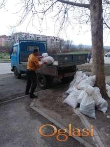 Mašinski / bagerski i ručni utovar i odvoz otpada, šuta, smeća, divljih deponija...