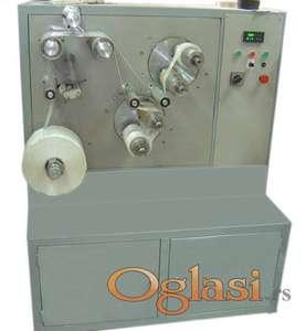 Automatska mašina za premotavanje i sečenje selotejp i krep traka