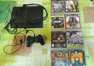 Sony playstation 3 500gb + 8 originalnih igara
