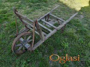Drvena kolica za bastu