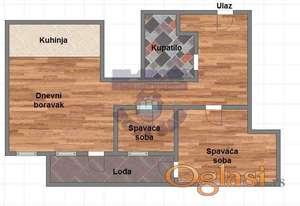 Porodičan stan na TOP lokaciji ! Uskoro useljivo ! PDV !