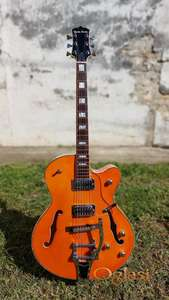 Harley Benton BigTone Trem Vintage Orange