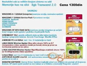 Windows Multi USB 8gb 2.0