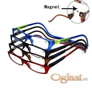 Naočari (klik) sa magnetom