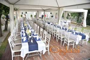 Iznajmljivanje stolova i stolica za proslave