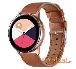 Narukvice za Samsung galaxy watch active, active (tamno braon)