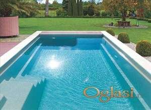 Poliestersko oblaganje bazena, jezera i fontana