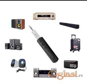 Wireless Reciever MP3 Bluetooth Car Kit Adapter