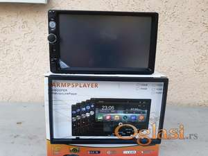 Multimedia auto radio 2din 7inca + parking kamera + blenda