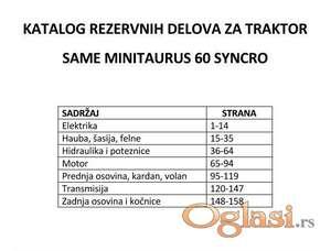 Same Minitaurus 60 Syncro Katalog rezervnih delova