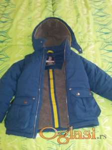 Decija muska zimska jakna-Wailiki, velicina 3-4Y