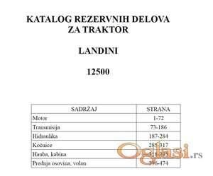 Landini 12500 - Katalog delova