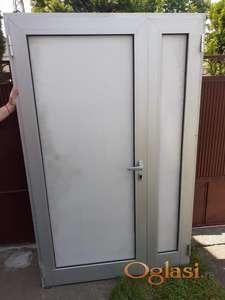 Prodajem polovna alu balkonska vrata