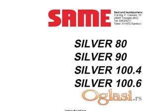 Same Silver 80 - 90 - 100.4 - 100.6  Radionički priručnik