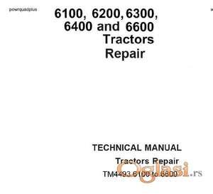John Deere 6100 - 6200 -6300 - 6400 -6600 Uputstvo za popravke i održavanje