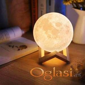 3D Mesec lampa difuzer