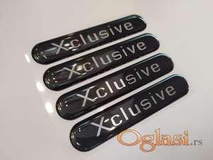 Xclusive stiker oznaka