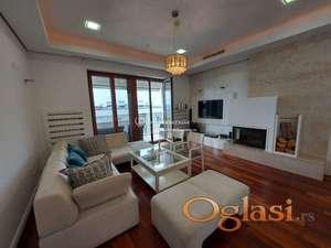 Izdavanje stanova Beograd- Četvorosoban lux stan , garaža, novogradnja