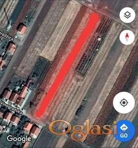 Plac, građevinsko zemljište, ul. Vinogradska, Bački Jarak