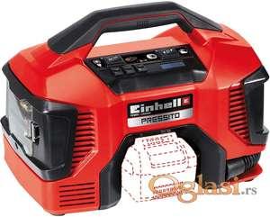 Akumulatorski/elektricni kompresor, TE-AC 18/11 LIAC Solo