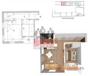 Nov lep, dvoiposoban stan u Petrovaradinu,nekoliko minuta od centra grada, Top lokacija