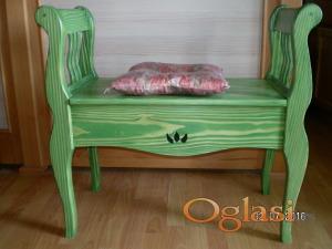 Zelena klupica