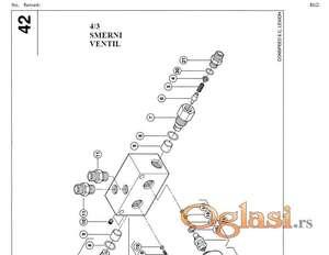 Claas Conspeed 6-70/75 C kukuruzni heder - Katalog delova