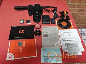 SONY ALPHA A100 DSLR Fotoaparat