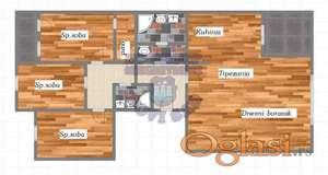 IMMO LUXURY LIVING -- Urbana vila sa 3 stana od 126m2