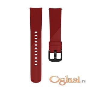 Silikonska narukvica 20mm 22mm samsung watch, huawei watch