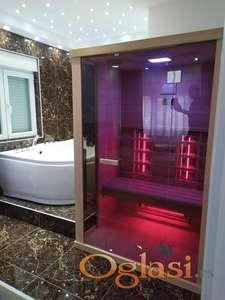 Infracrvena sauna za jednu i dve osobe -NOVO- 2021god.