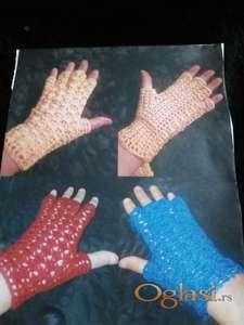 Heklam damske rukavice po narudzbini