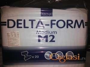 PELENE DELTA-FORM srednje  ( 20 kom u pakovanju )