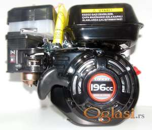 Benzinski motor Loncin G 200 196cc 6,5 KS radilica Ø20x53 mm