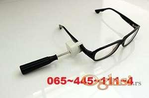 Alat-šrafciger za skidanje zuja sa naočara