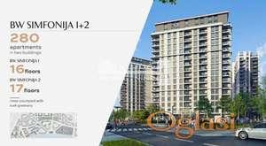 Beograd na vodi- BW Simfonija2-55m2(terasa) ID#1434