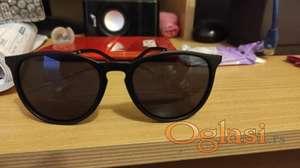 Lux Clubmaster redesign sunčane naočare Crne RASPRODAJA