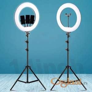 Ring light led svetlo za slikanje 14 inca 36cm + stativ