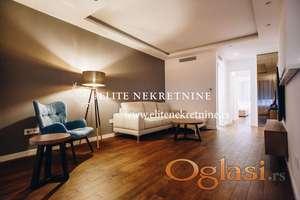 Izdavanje stanova Beograd-Vračar-Trosoban lux stan sa prostranom terasom