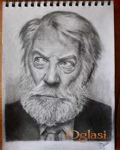 Crtanje portreta i ilustracija po narudžbini!