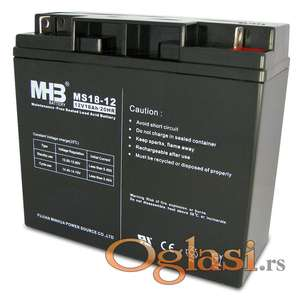 Baterija VRLA MHB 12v 18Ah