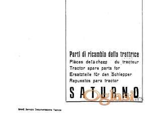 Same Saturno (1972-1976 godište) Katalog delova