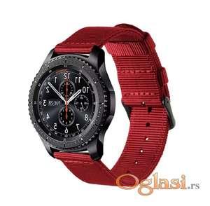 Samsung gear s3 frontier platnena narukvica (red)