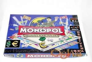 Monopol NA SRPSKOM - Drustvena igra