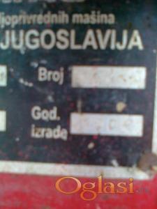 Valjevo Poljoprivredne mašine Zmaj 224 berac