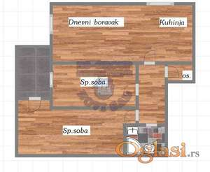 Dvoiposoban stan u izgradnji ** 021/6322-111 **