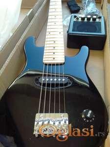 NOVO - Deciji setovi - pravih elektricnih gitara sa opremom