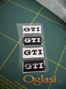 GTI stiker za volan